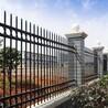 惠州市铁艺围墙护栏居民小区锌钢护栏双折弯厂区焊接围栏定制
