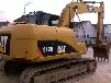 卡特二手挖掘机现场直销质量三包