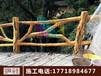 水泥假树施工专业假树制作仿真树大门施工假树栏杆施工凉亭花架制作