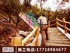 新疆仿木栏杆施工水泥假树仿木栏杆仿真树大门景区大门施工