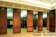 吉林酒店移动隔断餐厅包间360度旋转折叠隔音屏风厂家直销上门安装
