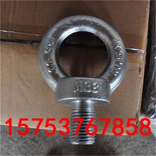 供应优质吊环螺栓不锈钢吊环吊环螺母可加工订做图片
