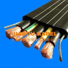 行车扁电缆(双钢丝)