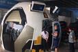 新品球幕电影多人动感影院大片科技外观商场中庭放置海洋馆航天科普中心