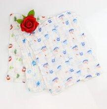 朋鸿雅贝比精梳棉口水巾生产厂家,品质过硬,可以根据客户需求设计加工宝宝口水巾图片
