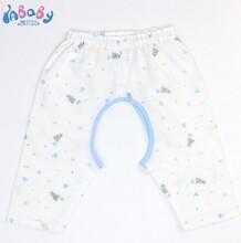 新品全棉纱布宝宝连身衣婴儿爬行服纯棉透气和蛤宝宝哈衣厂家定制图片
