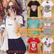 安徽淮南哪里2017东大门女装T恤批发厂家直销韩版印花女式T恤短袖批发