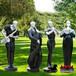 玻璃鋼園林景觀雕塑園林景觀小品加工玻璃鋼雕塑制作