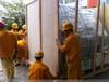 出口木箱包装及设备吊装搬迁