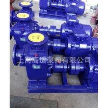 小功率ZX自吸泵優質臥式自吸壓力泵單吸式鑄鐵自吸泵圖片