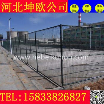 勾花铁丝护栏网江苏体育场围栏球场专用安全防护网