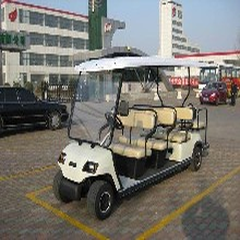 经典6座高尔夫球车8座电动高尔夫专供图片