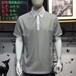 男装品牌休闲商务T恤爱格森原单正品一手货源折扣批发广州名都汇
