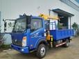 重汽王牌2吨3.2吨5吨上蓝牌随车吊厂家直销