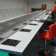 旋转火锅加盟回转火锅设备厂家直销提供6种底料