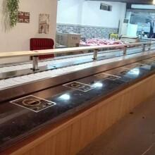德州回转火锅设备旋转寿司设备免费安装提供技术