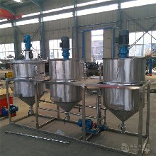 油脂精炼成套设备小型食用油精炼设备精炼油设备图片