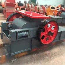 节能对辊式制砂机河卵石制砂机设备小型对辊破碎机