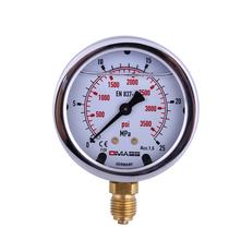 原装德玛仕压力表MBB06B-250-1-Z-Z-Z表圆直径:63MM量程:0、、25mpa现货供应图片