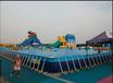 儿童游乐园支架水池充气水滑梯厂家直销