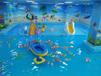 恒温室内儿童水上乐园水上滑梯水上喷水