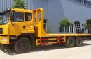 可拉6070挖机小蓝牌运输平板拖车图片