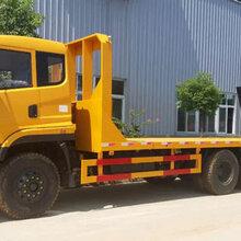 可拉6070挖机小蓝牌运输平板拖车