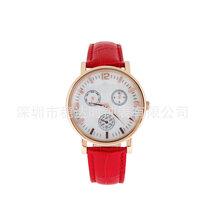 經典復古原裝進口男士女士高檔手表防水手表真皮不銹鋼情侶手表圖片