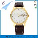 稳达时钟表超薄简约不锈钢石英手表时尚舒适真皮表带表面简单大方可定制LOGO