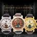 陀飞轮商务不锈钢机械手表高档精美镂空男表优质头层真皮厂家批发