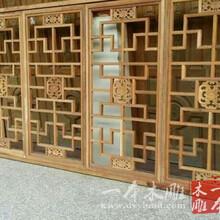仿古建筑工程仿古门窗批发定做木雕价格东阳市一本木雕