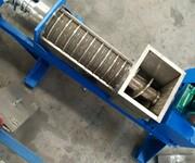 螺旋压榨机饮料螺旋榨汁机桑葚挤压机工厂直销图片