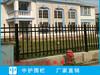 佛山廠家金屬護欄生產流程學校圍墻欄桿價格三橫桿鐵柵欄