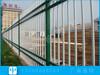 東莞產業園鐵藝柵欄安裝三橫桿圍墻欄桿焊接式鋅鋼護欄