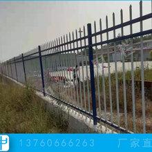 梅州锌钢护栏图片铁艺围墙围栏安装黑色组装栅栏图片