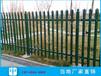 深圳亮光鍍鋅管護欄安裝電白小區圍墻防攀爬柵欄工廠鋅鋼欄桿