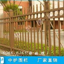汕尾小区铁艺护栏设计围墙栏杆款式黑色栅栏