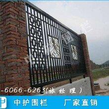 清远围墙栏杆图片产业园锌钢栅栏定做铁艺护栏规格图片
