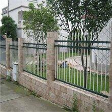 珠海社区锌钢栏杆采购香洲公园锌钢护栏安装金湾小学锌钢栅栏图片
