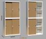 乐山钢制铁皮储物柜带锁财务档案资料柜落地办公文件柜矮柜