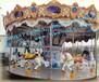 游乐场赚钱的豪华转马儿童游乐设备