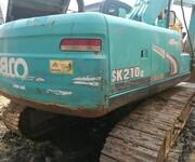 挖掘机市场二手挖掘机神钢210超8出售图片