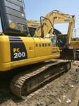 二手挖掘机挖掘机市场小松200-8图片