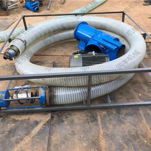 加工定做车载式吸粮机15米软管吸麦机规格图片