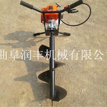 拖拉机挖坑机植树大功率挖坑机多功能打眼机图片