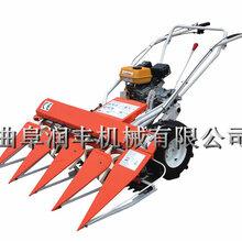 手推式秸秆收割机芦苇牧草收割机红辣椒割晒机