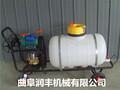 园林用高压喷雾机均匀喷药自走式高压喷雾器图片