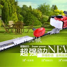 润丰手持汽油绿篱机采茶绿篱修剪机往返修剪双刃绿篱机图片
