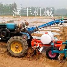 多功能花生播种机土豆播种机多功能喷药覆膜播种机图片