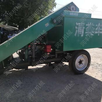 川藏牛场用清粪车严寒高原耐用刮粪机牲畜粪便收集车